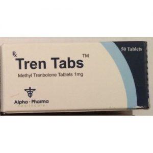 Tren Tabs Alpha Pharma